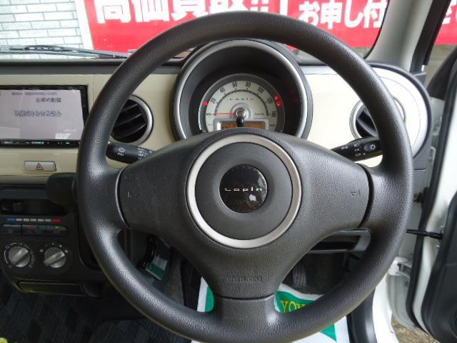 G HDDナビ スマートキー プッシュスターター ベンチシート ABS Wエアバック(9枚目)