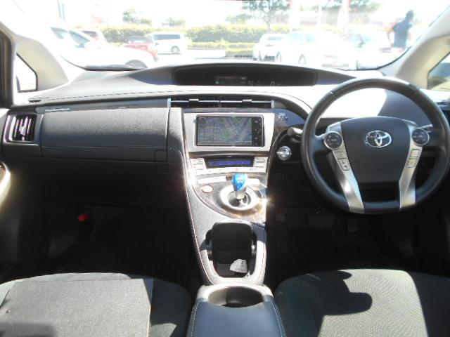 トヨタ プリウスPHV S 純正HDDナビ 地デジ ハンドルヒーター メーカー保証