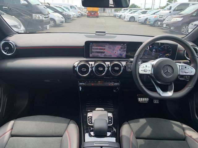 A180 スタイル AMGライン レーダーセーフティパッケージ/ナビパッケージ/TVチューナー/シートヒーター/AMG18インチアルミ/マルチビームLEDヘッドライト/レッドステッチ入合皮スエード調コンビスポーツシート/(2枚目)