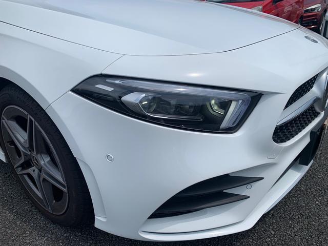 A180 スタイル AMGライン レーダーセーフティパッケージ/ナビパッケージ/TVチューナー/シートヒーター/AMG18インチアルミ/マルチビームLEDヘッドライト/レッドステッチ入合皮スエード調コンビスポーツシート/(4枚目)