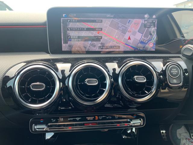 A180 スタイル AMGライン レーダーセーフティパッケージ/ナビパッケージ/TVチューナー/シートヒーター/AMG18インチアルミ/マルチビームLEDヘッドライト/レッドステッチ入合皮スエード調コンビスポーツシート/(7枚目)