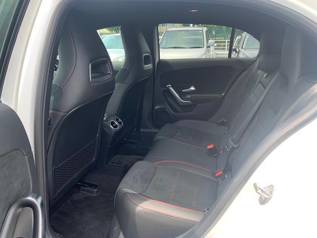 A180 スタイル AMGライン レーダーセーフティパッケージ/ナビパッケージ/TVチューナー/シートヒーター/AMG18インチアルミ/マルチビームLEDヘッドライト/レッドステッチ入合皮スエード調コンビスポーツシート/(14枚目)