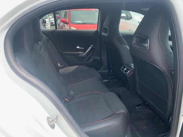 A180 スタイル AMGライン レーダーセーフティパッケージ/ナビパッケージ/TVチューナー/シートヒーター/AMG18インチアルミ/マルチビームLEDヘッドライト/レッドステッチ入合皮スエード調コンビスポーツシート/(16枚目)