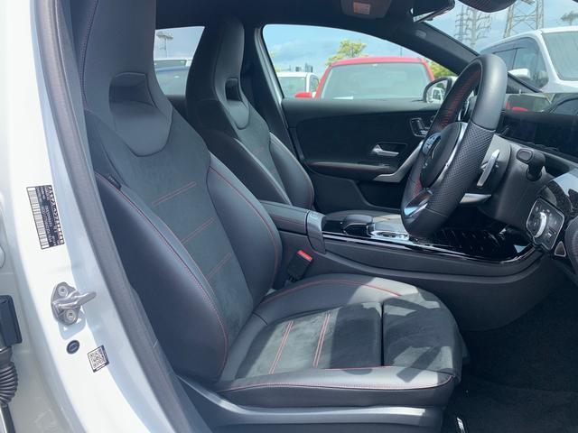 A180 スタイル AMGライン レーダーセーフティパッケージ/ナビパッケージ/TVチューナー/シートヒーター/AMG18インチアルミ/マルチビームLEDヘッドライト/レッドステッチ入合皮スエード調コンビスポーツシート/(17枚目)
