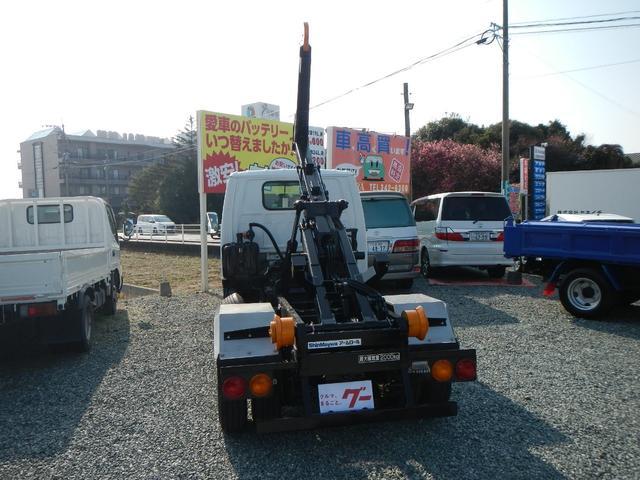 アームロール 2t車 5速MT エアコン パワステ PW(10枚目)