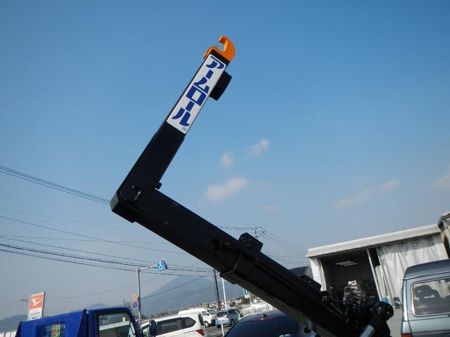 アームロール 2t車 5速MT エアコン パワステ PW(13枚目)
