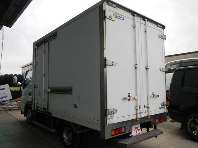 保冷パネルバン1.5t積 5速MT Wタイヤ ラジオ 横ドア(4枚目)