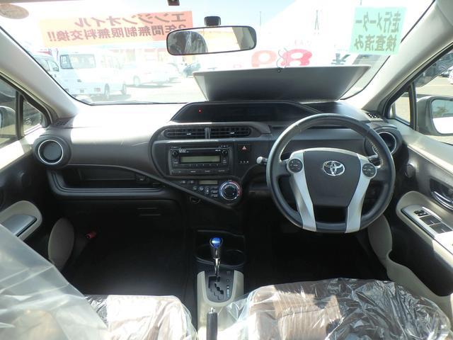 トヨタ アクア G スマートキー CD ETC アイドリングストップ