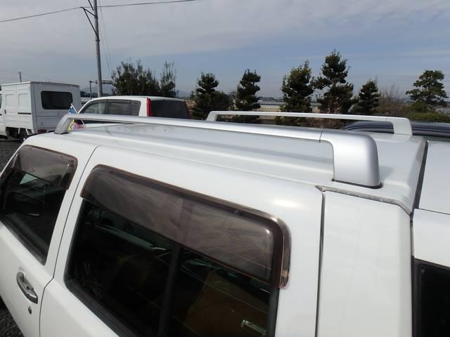 日産 ラシーン 4WD 背面タイヤ ETC 純正ルーフレール Goo鑑定車