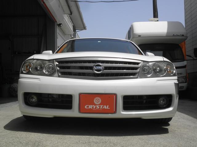 グランツーリスモ300SV ナビED II Largus車高調 VOSSEN20インチアルミホイール 社外2本出しマフラーオレンジ/ホワイトシートカバー(5枚目)