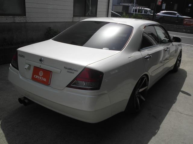 グランツーリスモ300SV ナビED II Largus車高調 VOSSEN20インチアルミホイール 社外2本出しマフラーオレンジ/ホワイトシートカバー(10枚目)