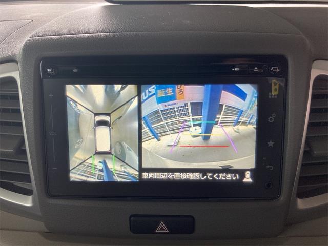 X ナビ 衝突被害軽減システム シフォンアイボリーメタリック 全周囲カメラ 4名乗り 記録簿 オーディオ付 電動リアゲート スマートキー ベンチシート(9枚目)