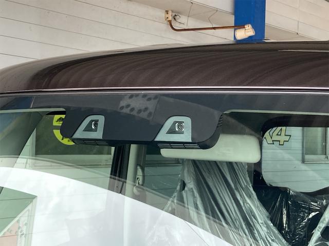 ハイブリッドG 届出済未使用車 ナビ 衝突被害軽減システム アーバンブラウンパールメタリック AC 修復歴無 両側スライドドア 4名乗り 記録簿 オーディオ付 DVD スマートキー PS(21枚目)