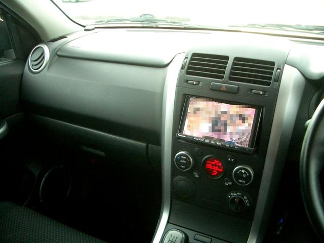 スズキ エスクード XG ナビ フルセグTV DVD Bカメラ 5速マニュアル