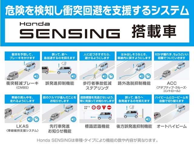 ハイブリッド・Gホンダセンシング デモカー メモリナビ フル(5枚目)
