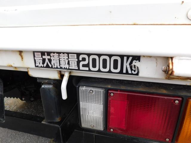 2t 高床 ディーゼルターボ 5速MT 平ボディ(21枚目)