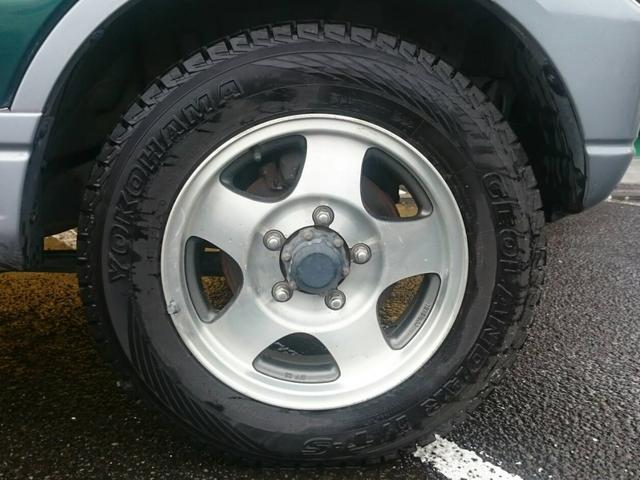 スズキ ジムニー ランドベンチャー ハーフレザーシート 背面タイヤハードカバー