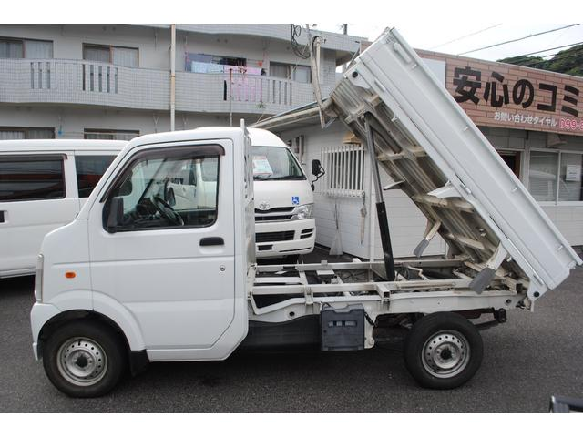 ダンプ グー鑑定車 MT5速 4WD エアコン パワステ(5枚目)