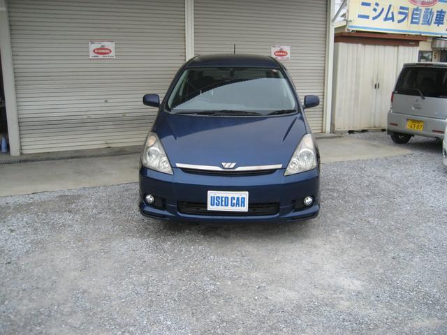 トヨタ ウィッシュ X Sパッケージ 7人乗り CD キーレス