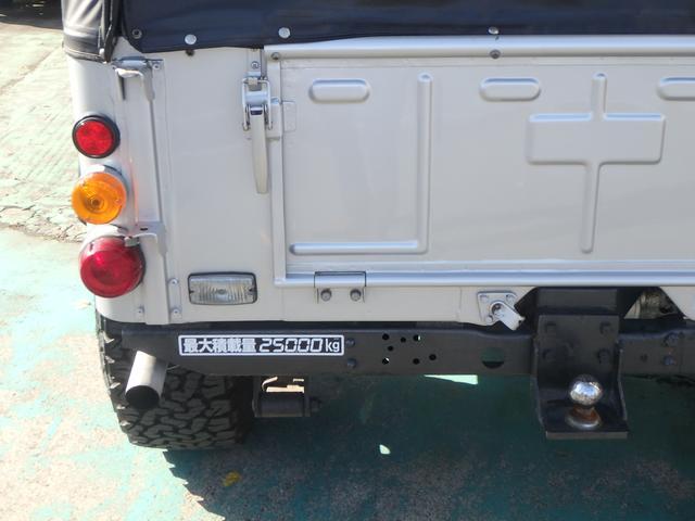 ディーゼルターボ 4WD 純正ホイール有/幌付き(13枚目)