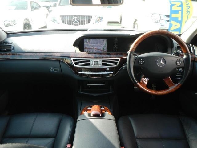 S350 S65AMGエアロ ディーラー車 20インチAW AMGマフラー 本革電動シート サンルーフ 純正ナビ バックカメラ シートヒーター ETC 障害物センサー(20枚目)