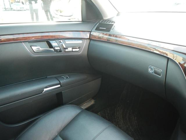 S350 S65AMGエアロ ディーラー車 20インチAW AMGマフラー 本革電動シート サンルーフ 純正ナビ バックカメラ シートヒーター ETC 障害物センサー(38枚目)