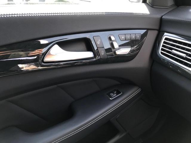 CLS220d AMGライン ブルーテック ワンオーナー ディーラー車 純正ナビ フルセグTV バックカメラ レーダーブレーキ 障害物センサー 電動レザーシート 禁煙車 電動バックドア(43枚目)