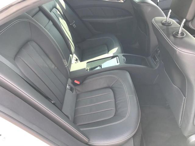 CLS220d AMGライン ブルーテック ワンオーナー ディーラー車 純正ナビ フルセグTV バックカメラ レーダーブレーキ 障害物センサー 電動レザーシート 禁煙車 電動バックドア(45枚目)