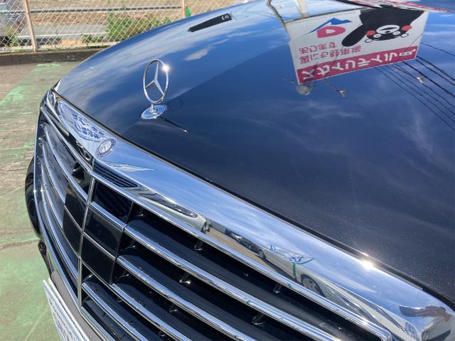 S550ロング AMGライン ショーファーパッケージ ワンオーナー 禁煙車 ディーラー車 右ハンドル レザーシート パノラマサンルーフ オットマン ナビ 360度カメラ リヤモニター(3枚目)