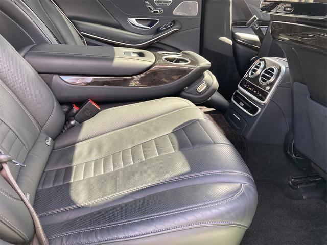 S550ロング AMGライン ショーファーパッケージ ワンオーナー 禁煙車 ディーラー車 右ハンドル レザーシート パノラマサンルーフ オットマン ナビ 360度カメラ リヤモニター(53枚目)