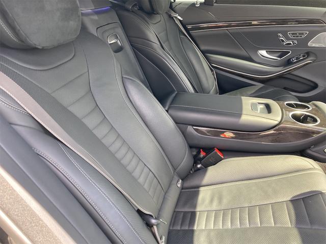 S550ロング AMGライン ショーファーパッケージ ワンオーナー 禁煙車 ディーラー車 右ハンドル レザーシート パノラマサンルーフ オットマン ナビ 360度カメラ リヤモニター(57枚目)