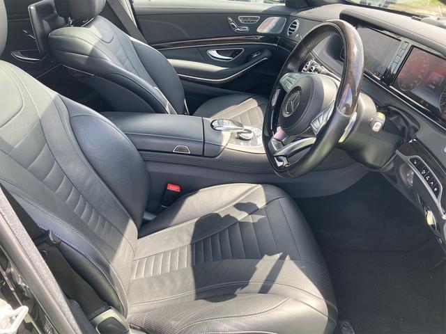 S550ロング AMGライン ショーファーパッケージ ワンオーナー 禁煙車 ディーラー車 右ハンドル レザーシート パノラマサンルーフ オットマン ナビ 360度カメラ リヤモニター(70枚目)