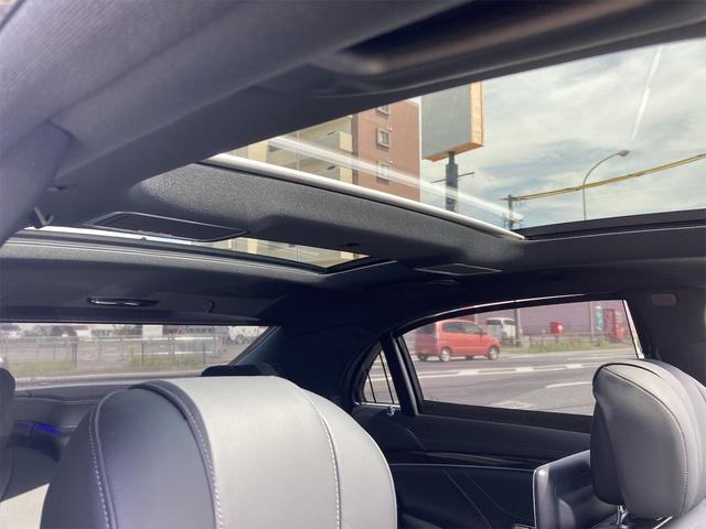 S550ロング AMGライン ショーファーパッケージ ワンオーナー 禁煙車 ディーラー車 右ハンドル レザーシート パノラマサンルーフ オットマン ナビ 360度カメラ リヤモニター(73枚目)