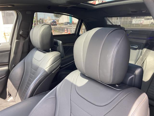 S550ロング AMGライン ショーファーパッケージ ワンオーナー 禁煙車 ディーラー車 右ハンドル レザーシート パノラマサンルーフ オットマン ナビ 360度カメラ リヤモニター(77枚目)