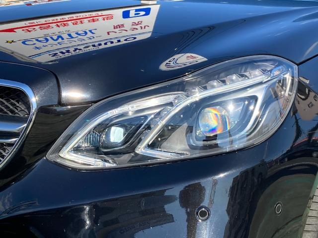 E400 アバンギャルド AMGライン V6 BITURBO ディーラー車 右ハンドル ニッチェ19inアルミ AMGルックグリル LEDライト マフラー中間カスタム トランクスポイラー サンルーフ レザーパワーシート(12枚目)