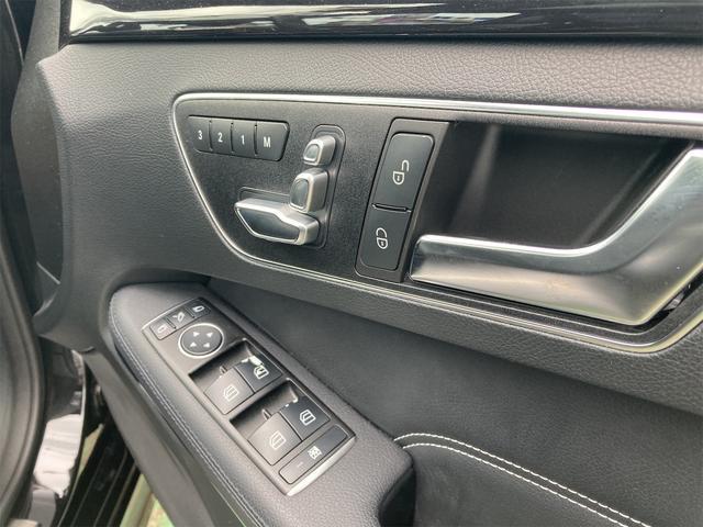 E400 アバンギャルド AMGライン V6 BITURBO ディーラー車 右ハンドル ニッチェ19inアルミ AMGルックグリル LEDライト マフラー中間カスタム トランクスポイラー サンルーフ レザーパワーシート(14枚目)