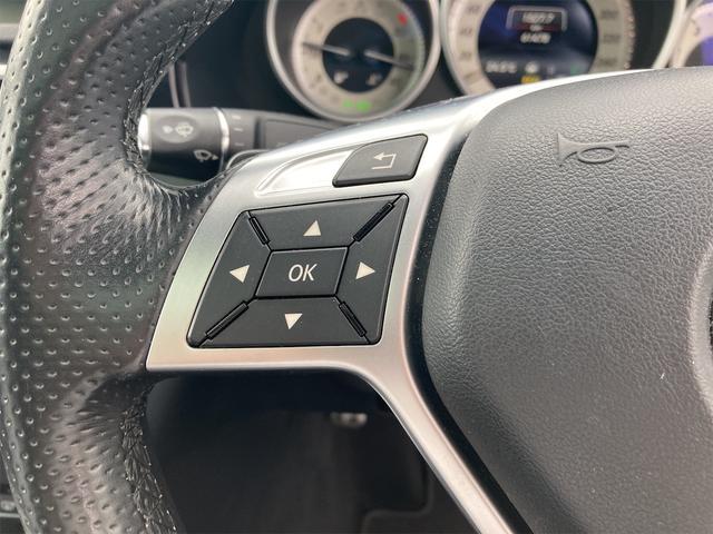 E400 アバンギャルド AMGライン V6 BITURBO ディーラー車 右ハンドル ニッチェ19inアルミ AMGルックグリル LEDライト マフラー中間カスタム トランクスポイラー サンルーフ レザーパワーシート(32枚目)