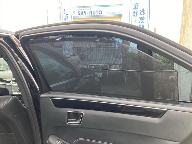 E400 アバンギャルド AMGライン V6 BITURBO ディーラー車 右ハンドル ニッチェ19inアルミ AMGルックグリル LEDライト マフラー中間カスタム トランクスポイラー サンルーフ レザーパワーシート(45枚目)