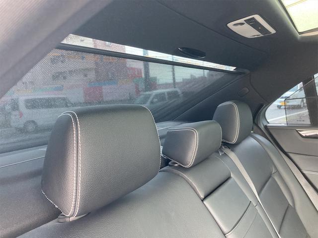 E400 アバンギャルド AMGライン V6 BITURBO ディーラー車 右ハンドル ニッチェ19inアルミ AMGルックグリル LEDライト マフラー中間カスタム トランクスポイラー サンルーフ レザーパワーシート(48枚目)