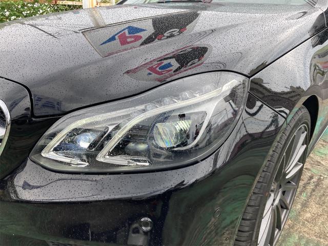 E400 アバンギャルド AMGライン V6 BITURBO ディーラー車 右ハンドル ニッチェ19inアルミ AMGルックグリル LEDライト マフラー中間カスタム トランクスポイラー サンルーフ レザーパワーシート(70枚目)