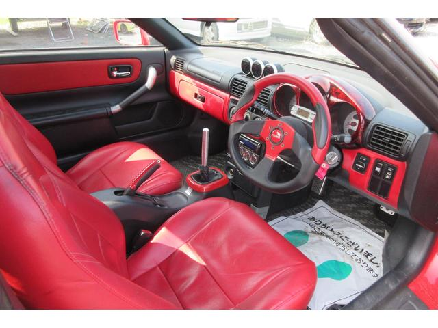 トヨタ MR-S Sエディション 5速MT 塗装渡 テイン車高調