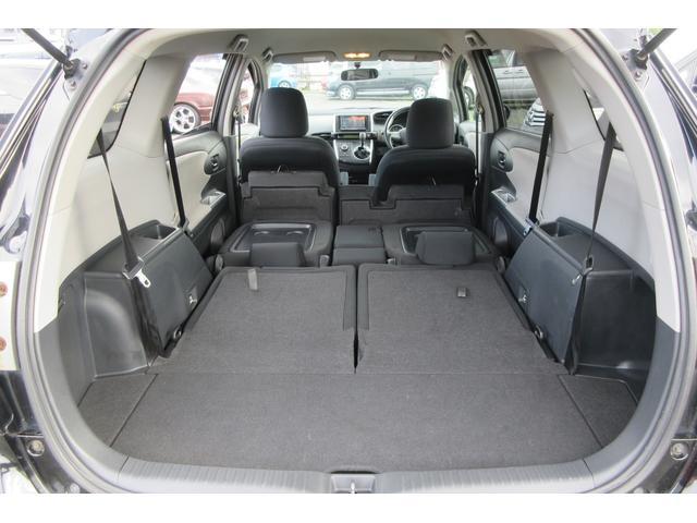 2列シート収納によりより広くトランクスペース確保出来ます!車中泊可能です!