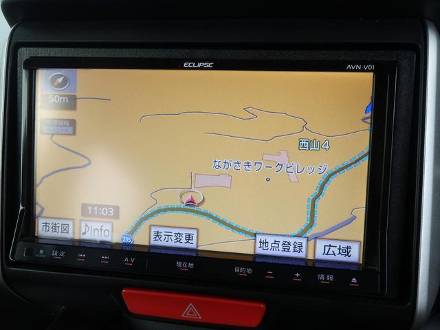 ホンダ N BOXカスタム G・Lパッケージ ナビ Rカメラ ETC HID
