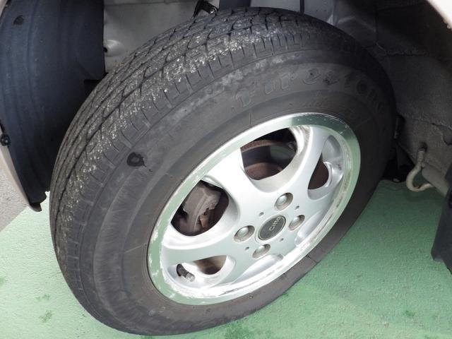 FireStone製のタイヤを装着しています。