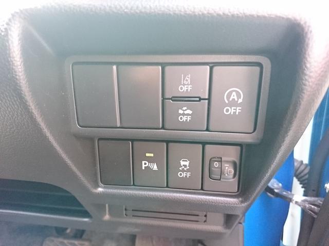 レーダーブレーキサポートや横滑り防止装置、車線逸脱警報機能などのサポート装備も充実♪