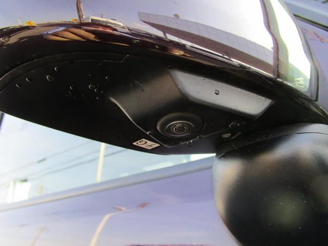サイドミラー下にはサイドカメラを装備!