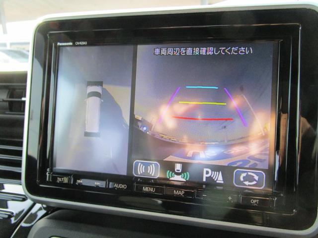 全方位カメラ装備♪車を真上から見下ろしたような状態で確認でき、駐車時に役立ちます☆