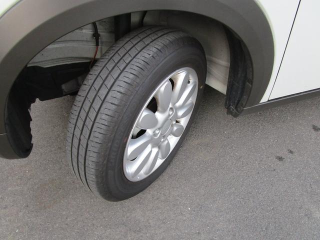 タイヤ溝もまだまだあります♪スズキ純正14インチアルミホイールです☆
