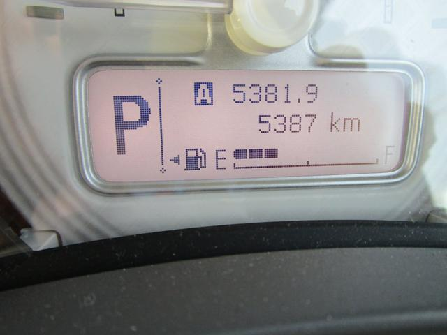 走行距離は5,387km!少ない走行距離がうれしいですね♪