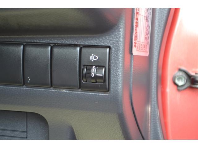ヘッドライトレベライザー付きでライトの上下調整ができます!